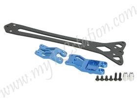 Graphite Upper Deck For TT01-E #TT01-E34