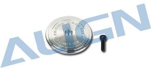 H60005QFT Metal Head Stopper/ Silver #H60005QFT
