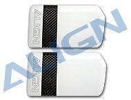 HN7008 700N Carbon Fiber Flybar Paddle