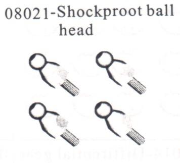 HSP 1/10 Monster Truck Shock Ball Mount *08021#08021