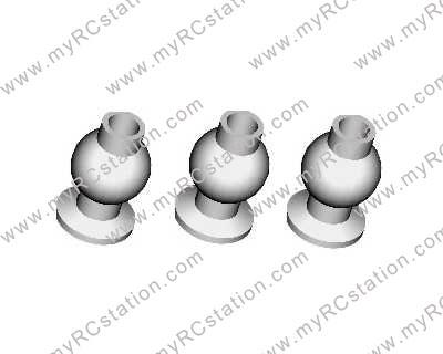 HSP 1/8 Universal Joint Balls 6P #81207