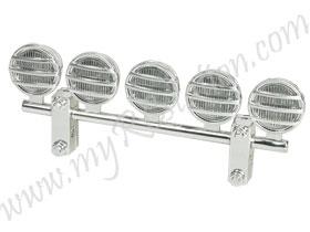 LED Crawler Light Bar Set (5 Spotlight) #3RAC-LEDK03