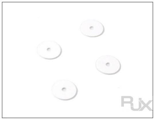 Main blades POM washer 3x15x1mm For 425 main blades (4pcs)