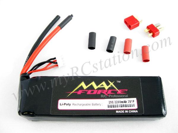 MaxForce Li-Po 25C/7.4V/2200mAh