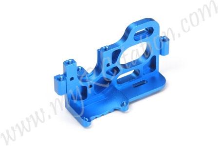 RC TB03 Aluminum Motor Mount - Blue #54150