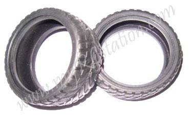 Rubber Tire (4pcs) #9168-139