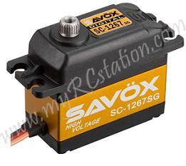 Savox SC-1267SG (Ultra Speed) Digital Steel Gear Servo (High Voltage) #SC-1267SG