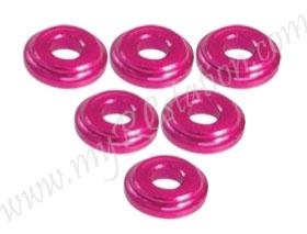 Shock Tower Shim M8 x 2mm (6pcs) - Pink #3RAC-WFS820/PK