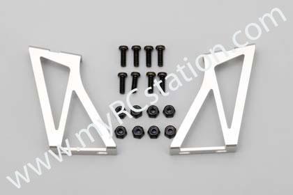 Yokomo Aluminum Wing Stay (Silver) #D-056