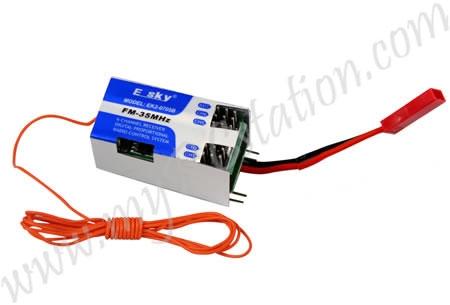 EK2-0705B 4IN1 CONTROLLER 41*23*21MM (72mhz) #000105