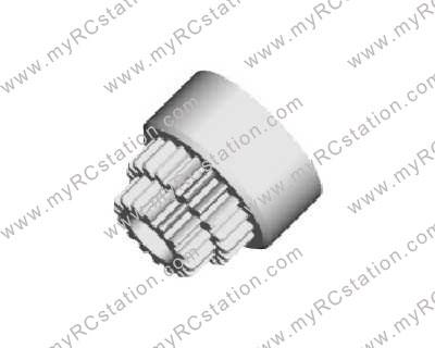 HSP Clutch Bell (Double Gears)#2023