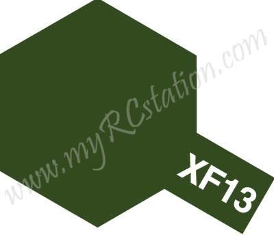 XF13 J.A. Green Enamel Paint (Flat)