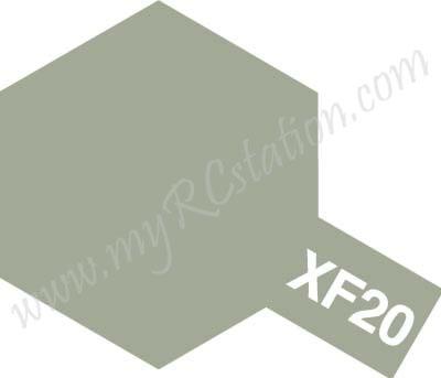 XF20 Medium Grey Enamel Paint (Flat)