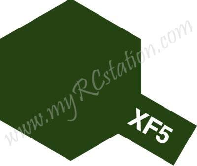 XF5 Flat Green Enamel Paint (Flat)