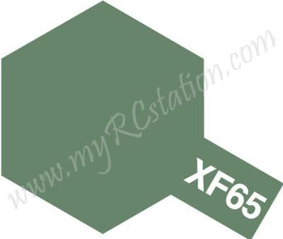 XF65 Field Grey Enamel Paint (Flat)