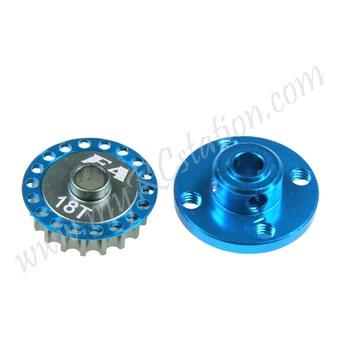 Gear Adaptor W/Pulley ,Alum :TAMIYA TA06 #ER.TA06-13