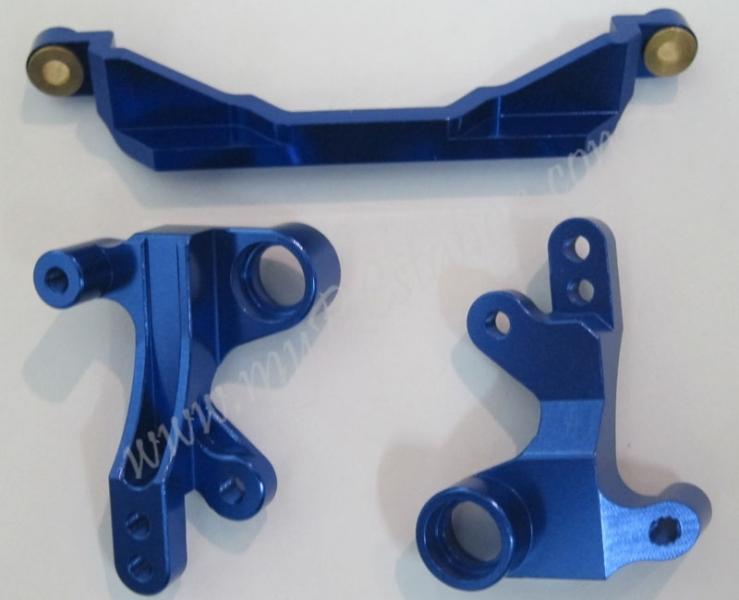 R31 Alloy Steering Crank , Blue, R31005 #R31-073.B