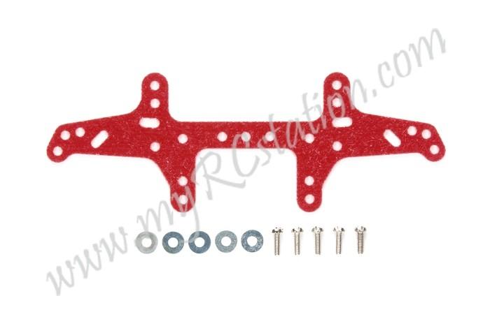 JR Multi Roller Setting Stay - FRP (Rear) Red