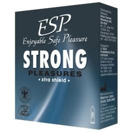 ESP (Enjoyable Safe Pleasure) Condom - Strong Pleasures 3pcs