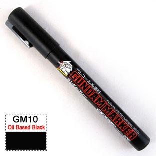 Gundam Marker Pen - Oil Based GM10 (Black)