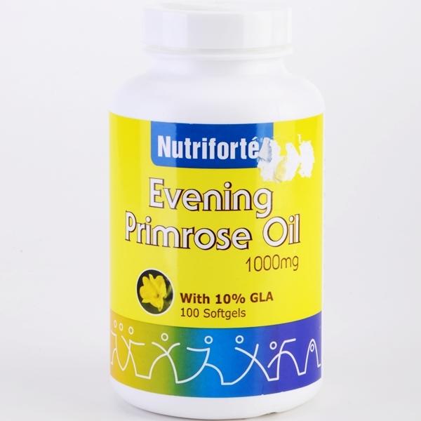 Nutriforte - Evening Primrose Oil 1000mg With 10% GLA (100 Softgels)