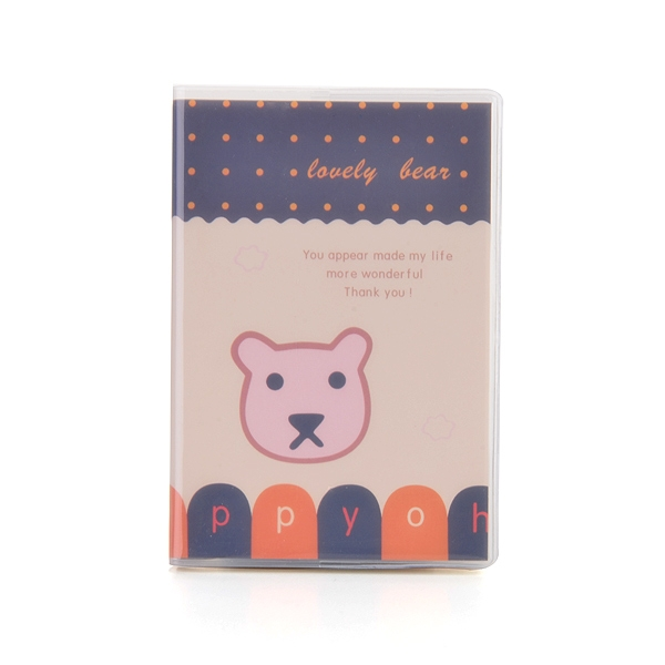 Mini Note Book (Lovely Bear) (Small)