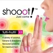 SHOOOT TUTTI-FRUTTI Condom / Kondom 3 pcs