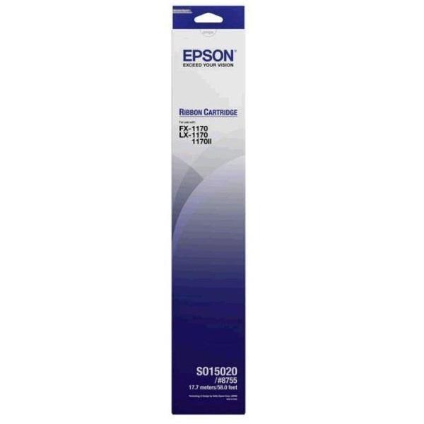 Epson S015520 Black Ribbon Cartridge