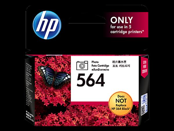 HP CB317WA 564 Black Genuine Original Printer Photo Cartridge