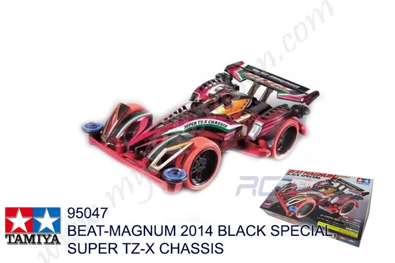 Tamiya  BEAT-MAGNUM 2014 BLACK SPECIAL, SUPER TZ-X CHASSIS #95047