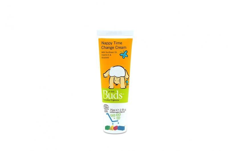 Buds Everyday Organics Nappy Time Change Cream