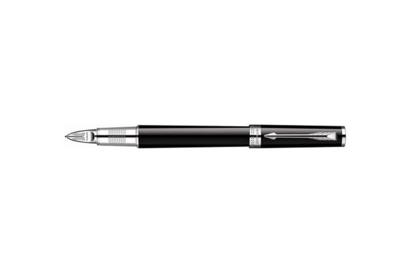 Parker Ingenuity Large Black Chrome Trim Medium Point 5th Mode Pen