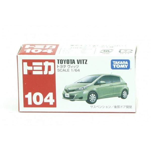 Tommy Takara Diecast vehicle - #104 TOYOTA VITZ