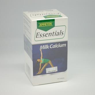 Appeton Essentials Milk Calcium 300Mg 120S (for Strong Bones)