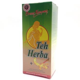 ORANG KAMPUNG HERBAL TEA GINGER 30 SACHET (DETOX & SLIMMING)