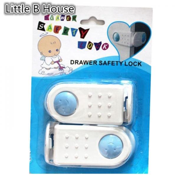 Child Drawer Safety Lock 4 Piece per Set