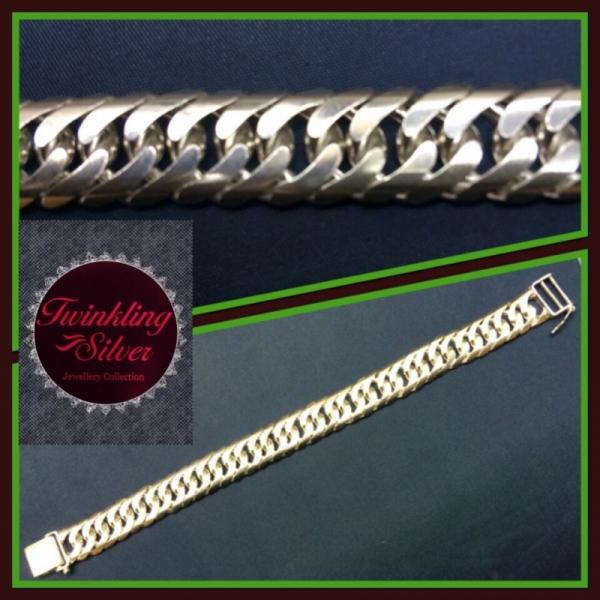 Fine 925 Silver Gent Bracelet ( B350SPOKSKOH )