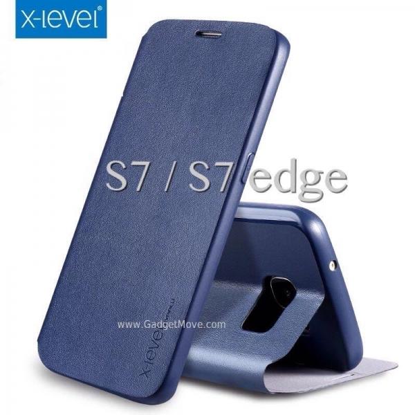 FIB X-Level Galaxy Note 5 S7 Edge A5 A7 2016 Leather Case Flip Cover