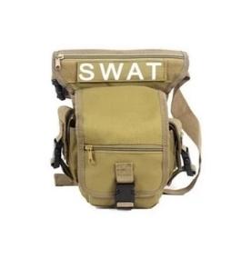 (Khakis) Hi-Grade SWAT Tactical Multifunction US Military Waist Leg Bag Outdoor