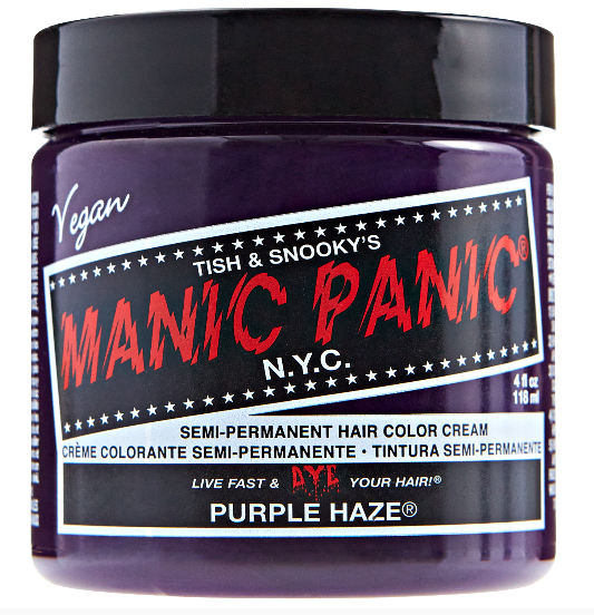 Manic Panic Semi-Permanent Hair Color Cream Purple Haze
