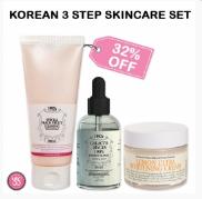 Korean 3 Step Skincare Set