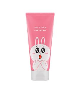 [Line Friends Edition] Missha Flower Bouquet Cherry Blossom Cleansing Foam 150ml