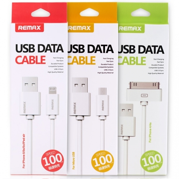 REMAX Fast Charging Micro USB Cable Android iPhone ( Micro USB )
