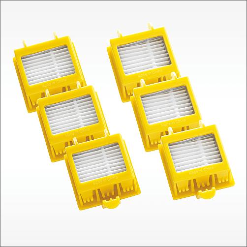 Dual HEPA Filters (Pack of 3)