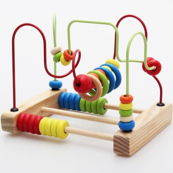 Early Childhood Education of Bead Stringing Building Blocks -BKM28