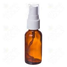 30ml Glass Amber Bottles with Spray head