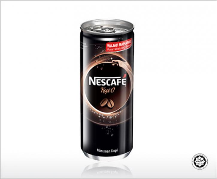 Nestle NESCAFE Kopi O NutrF Can 240ml