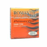 Romantic Love Rubber Quick & Easy Tiger Type - 2's