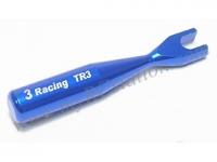 3mm Aluminum Turnbuckle Tuner - 3.1mm Header Gap #3RAC-TR3/V2