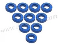 Aluminium M3 Flat Washer 1.5mm (10 Pcs) Blue #3RAC-WF315/BU